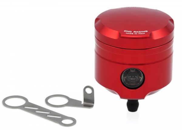 FLUID TANKS OIL RESERVOIR BRAKE-CLUTCH 25 ML WITH LEVEL WINDOW AND STRAIGHT OUTFLOW MONOCHROME