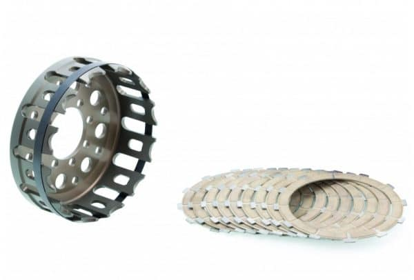 KIT CLUTCH HOUSING AND FRICTION DISCS