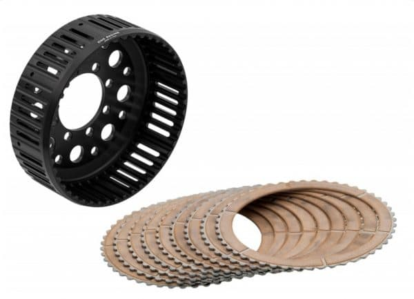 KIT CLUTCH HOUSING 48 TEETH AND FRICTION DISCS DUCATI