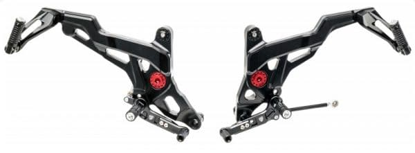 ADJUSTABLE REAR SETS TOURING DUCATI MONSTER 821 1200 1200S