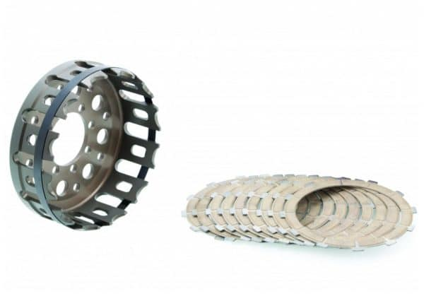 KIT CLUTCH HOUSING AND CONDUCTIVE DISCS
