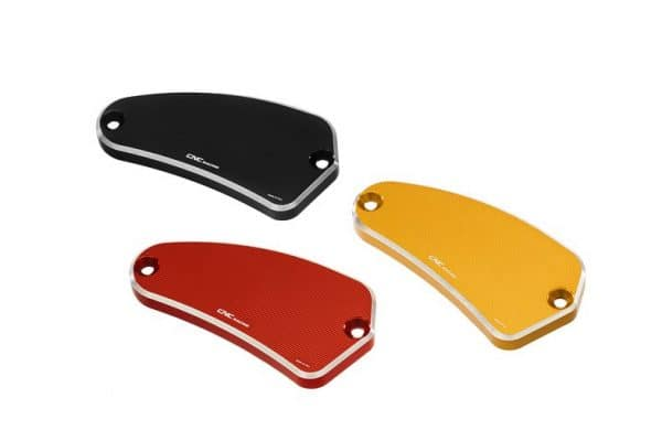 FRONT BRAKE FLUID RESERVOIR CAP MV AGUSTA - BICOLOR
