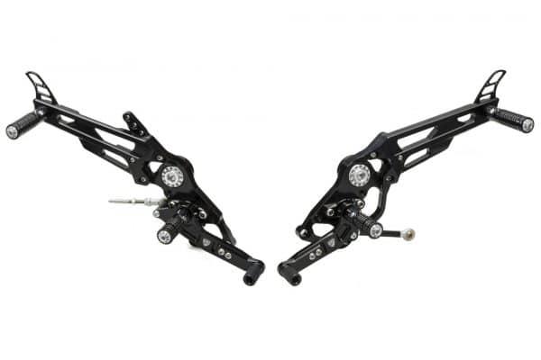 Adjustable rear sets Ducati