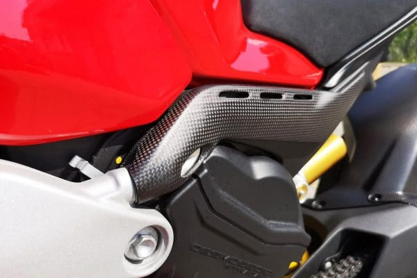 Rear subframe covers Ducati Panigale V4 - Matt Carbon