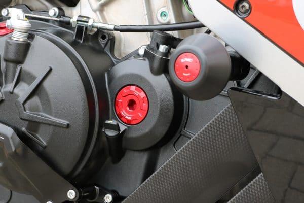 Timing inspection cap Aprilia