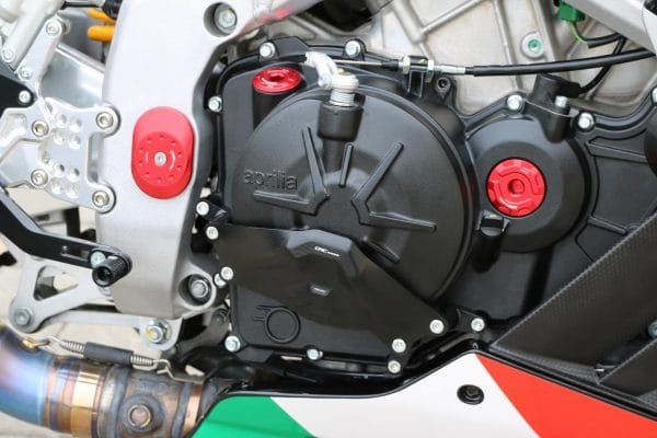 "Clutch cover ""RPS"" Right side Aprilia"