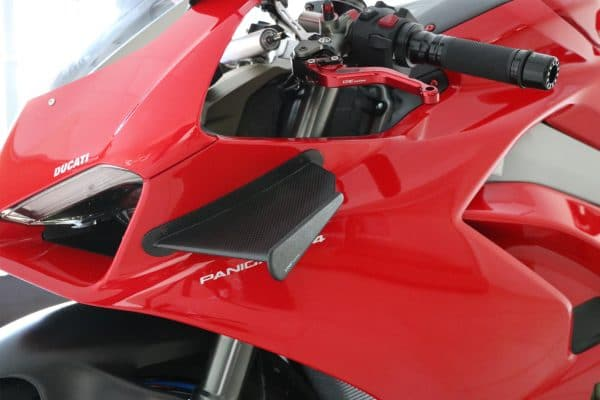 GP Winglets Ducati Panigale V4 - Carbon fiber