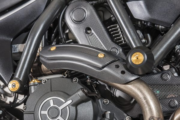 PROTECTION PADS FOR ENGINE, FRAME AND FAIRING DUCATI SCRAMBLER