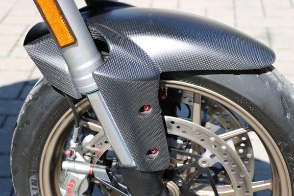 Front mudguard Ducati Multistrada - Matt Carbon